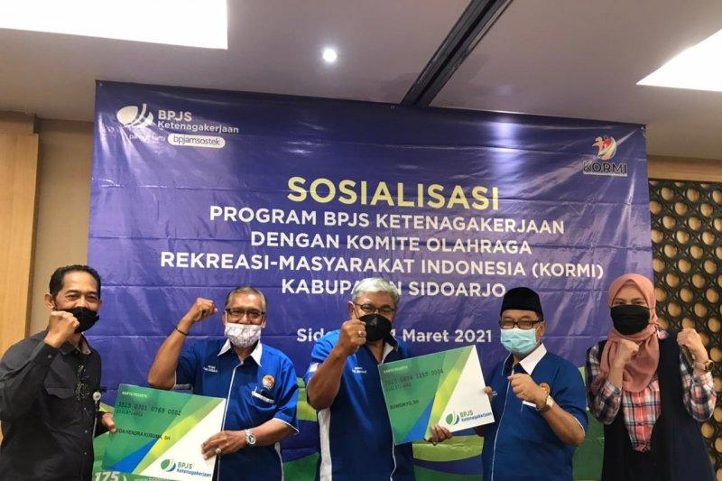 Bpjs Ketenagakerjaan Sidoarjo Bidik Kepesertaan Kormi Antara News Jawa Timur