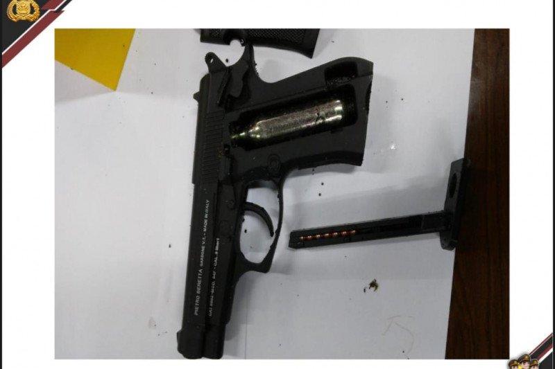 Ini jenis pistol pelaku teror Mabes Polri
