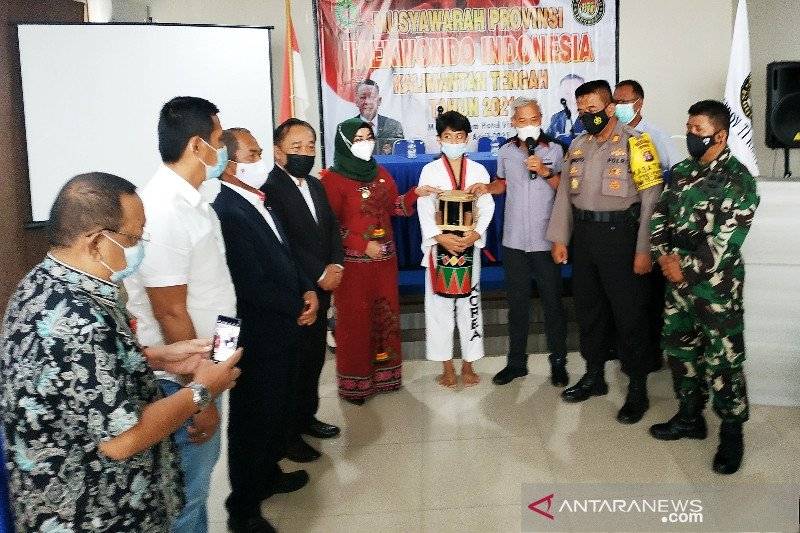 Taekwondo Kalteng didorong raih prestasi nasional