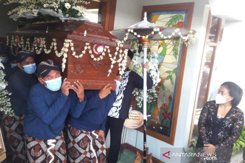 Gusti Hadi dimakamkan di Hastorenggo Kotagede