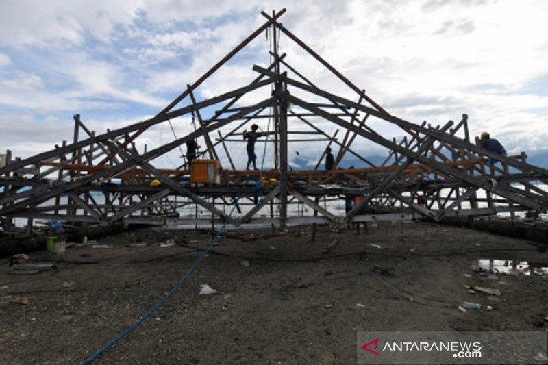 Kesulitan nelayan bagan di Palu