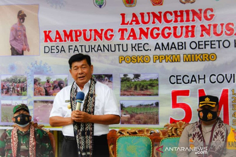 Wabup apresiasi Polres Kupang membangun Kampung Tangguh Nusantara