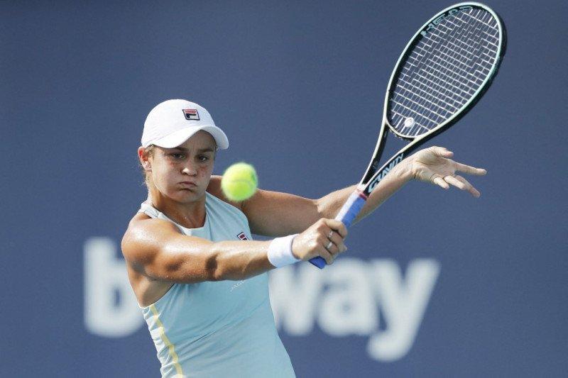 Barty kunci tiket final Miami Open