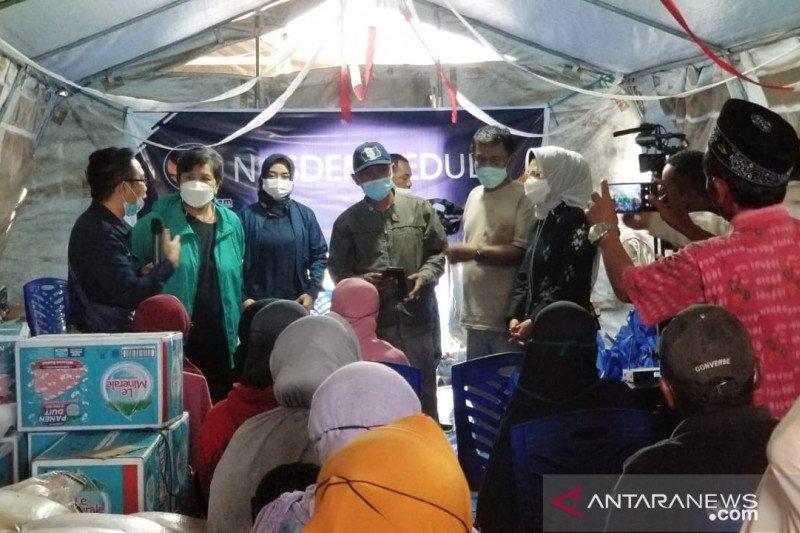 NasDem salurkan 7.000 paket pangan ke penyintas likuefaksi