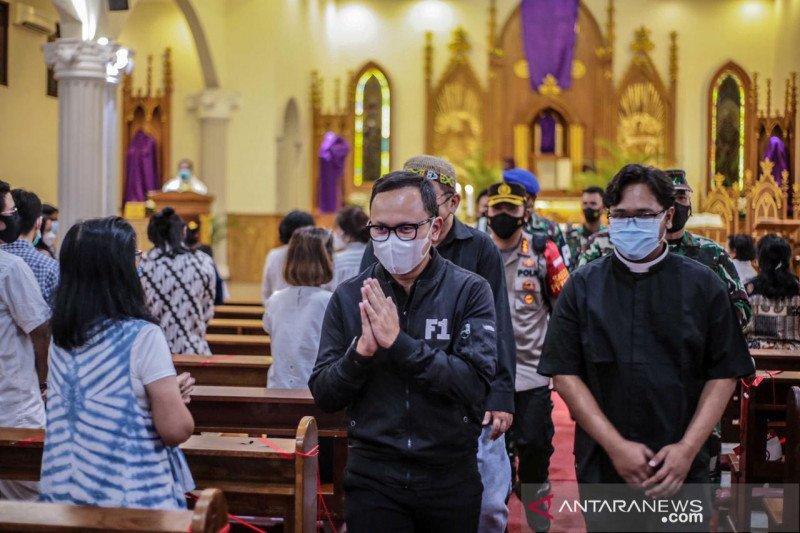 Wali Kota Bogor pastikan keamanan saat kebaktian dan misa Paskah