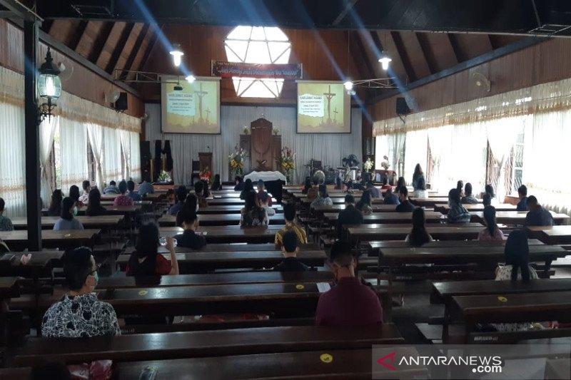 Perayaan Jumat Agung di Sampit terapkan protokol kesehatan secara ketat