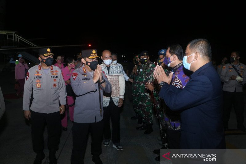 Kapolri tiba di Kupang