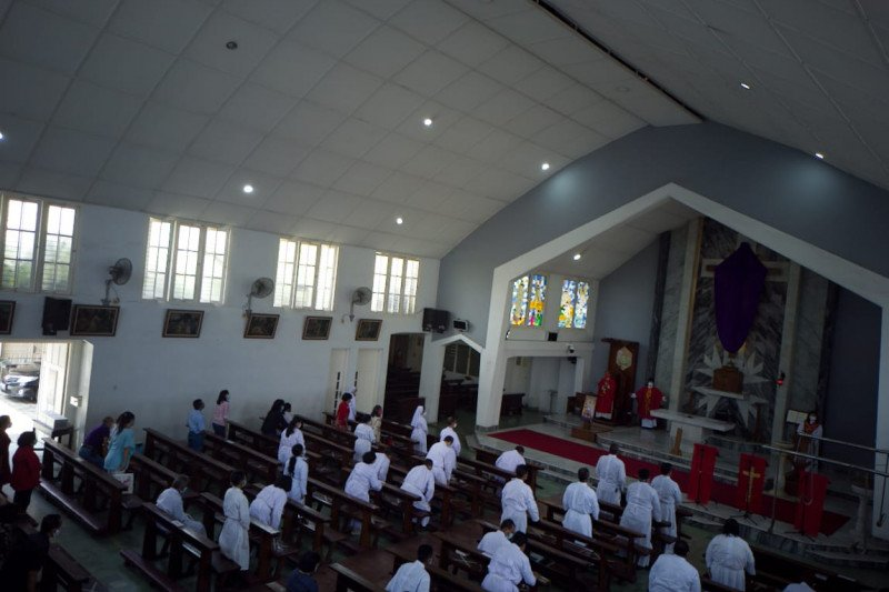 Polresta Bandarlampung terjunkan 399 personel amankan gereja-gereja
