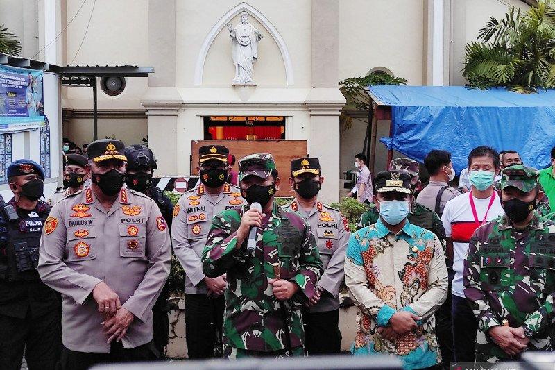 Panglima TNI : Bangun Poskotis untuk cegah gerakan teroris