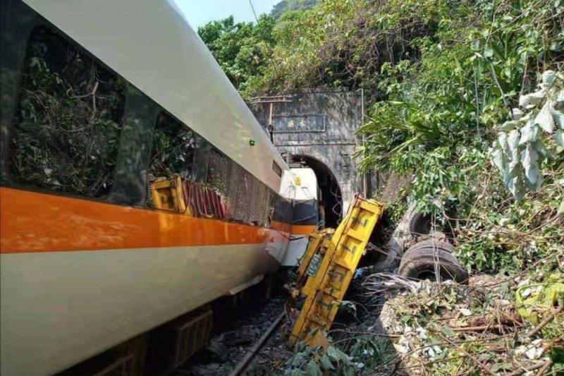 Kecelakaan KA di Taiwan tewaskan 48 orang tak ada korban  WNI