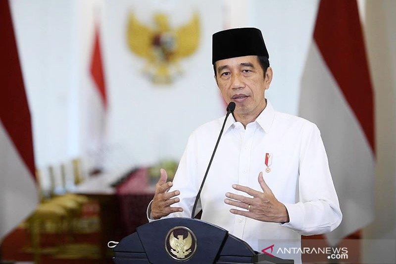 Jokowi dorong komitmen LDII anut paradigma baru dan toleran ber-bhinneka tunggal ika