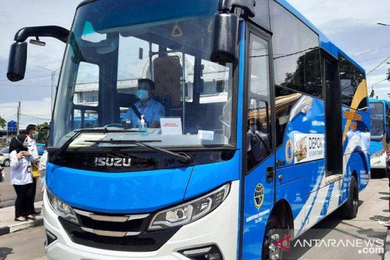 Warga kota Depok diajak gunakan bus sebagai alat transportasi