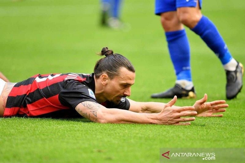 Zlatan Ibrahimovic diduga langgar protokol kesehatan