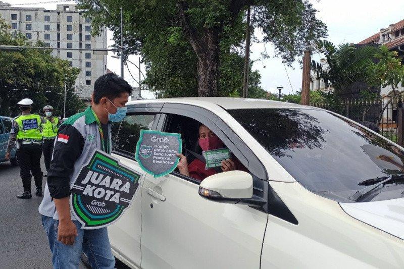 """Dukung prokes, Grab gelar """"Juara Kota"""" di 10 kota"""