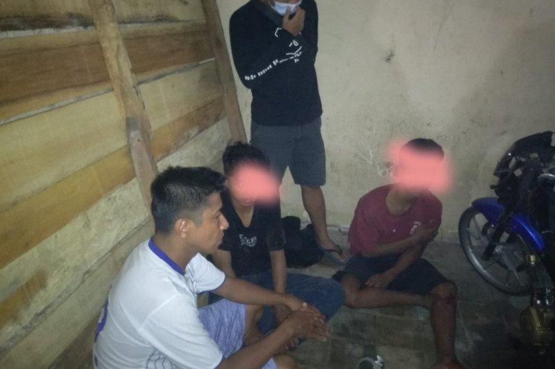 Apes! jambret HP pelajar di Lombok Timur tertangkap gara-gara kecelakaan