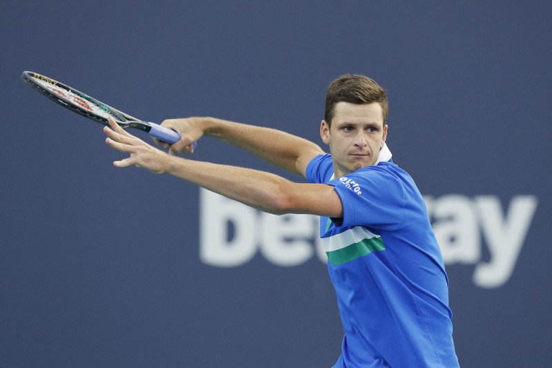 Petenis Polandia Hurkacz juarai ATP Masters perdana di Miami Open 2021