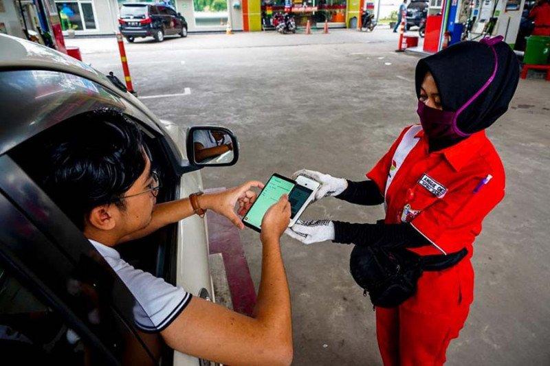 Pertamina dorong transaksi digital
