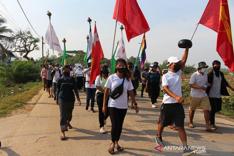UNDP tegaskan separuh populasi Myanmar berisiko jatuh miskin pada 2022