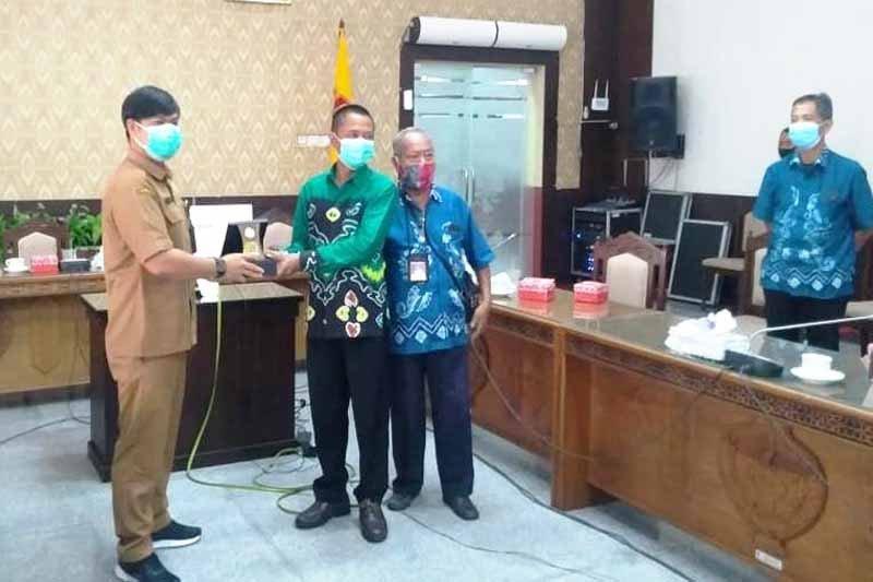 Dikunjungi pers dari Kalsel, DPRD Kalteng bersinergi dengan Media