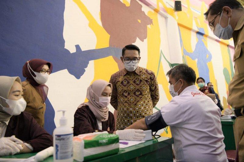 Ridwan Kamil pastikan atlet Jawa Barat telah divaksin