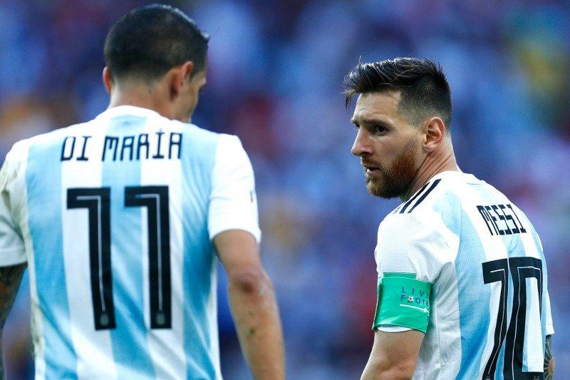Di Maria berharap Messi ke PSG