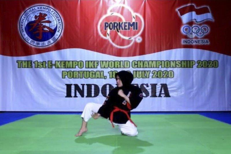 Atlet Porkemi meraih lima medali emas Kejuaraan Dunia Virtual Ke-2