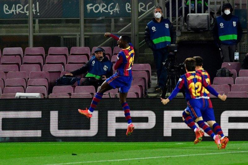 Ousmane Dembele yakin tetap bersama Barcelona