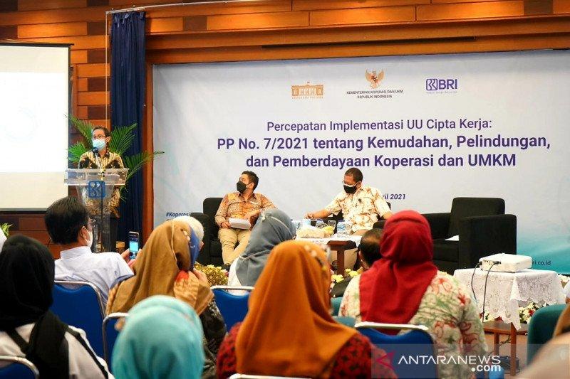 Kemenkop UKM ajak UMKM Bandung manfaatkan kemudahan PP Nomor 7/2021