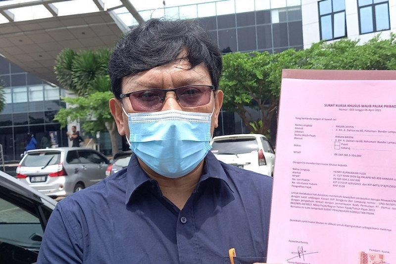 Wajib pajak bersama kuasa hukum pajak penuhi panggilan Kanwil DJP Bengkulu-Lampung