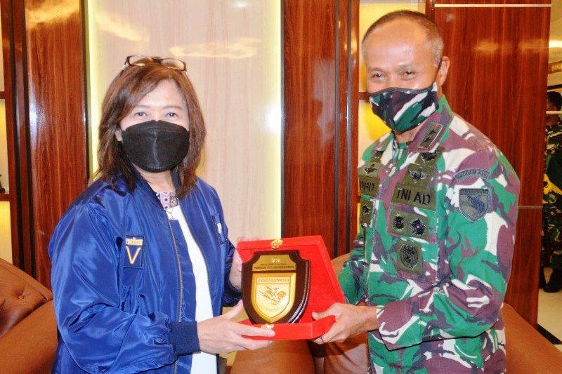 Deputi V KSP temui Pangdam XVII/Cenderawasih bahas pengamanan PON XX Papua