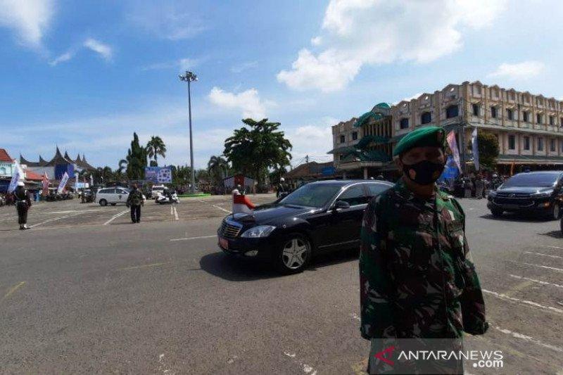 Wapres tiba  di Pasar Rakyat Pariaman