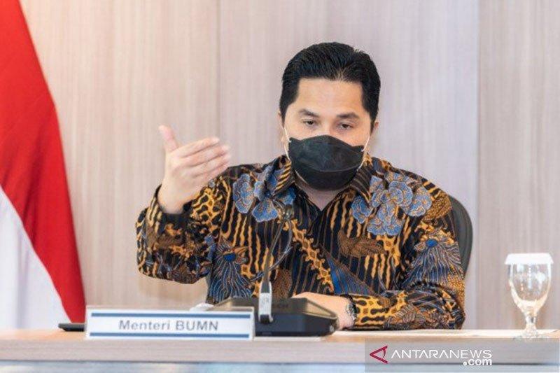 Erick Thohir: CEO BUMN harus bisa bersaing dengan CEO global