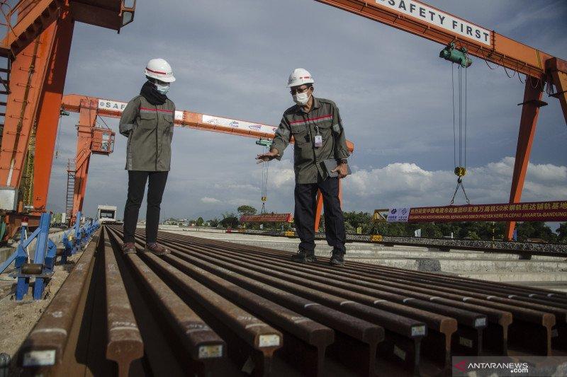 Menhub sebut proyek kereta cepat Jakarta-Bandung lompatan kemajuan Indonesia