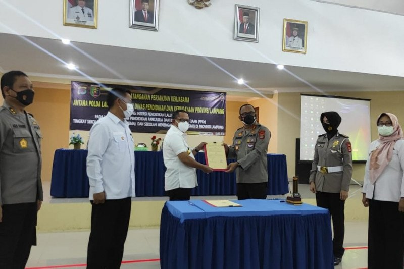 Pendidikan Lalu Lintas masuk pada mata pelajaran PPKn SMA/SMK Provinsi Lampung