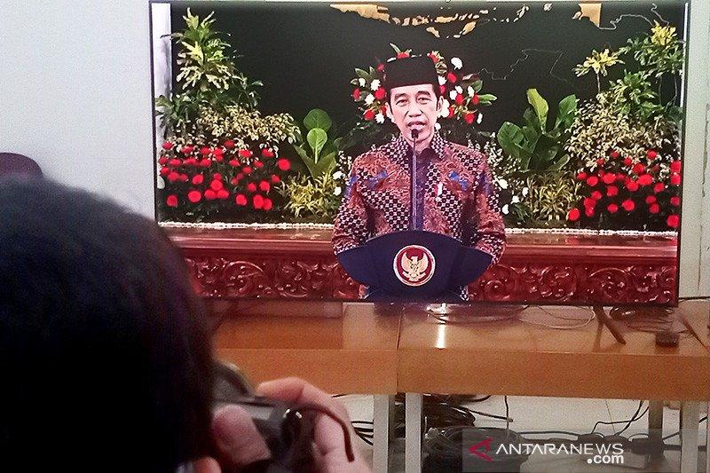 Presiden Jokowi minta organisasi keagamaan punya komitmen kebangsaan kuat
