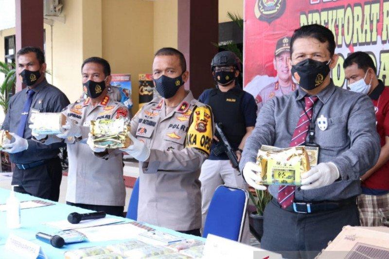 Polres Muba kembangkan penangkapan kurir narkoba jaringan Riau