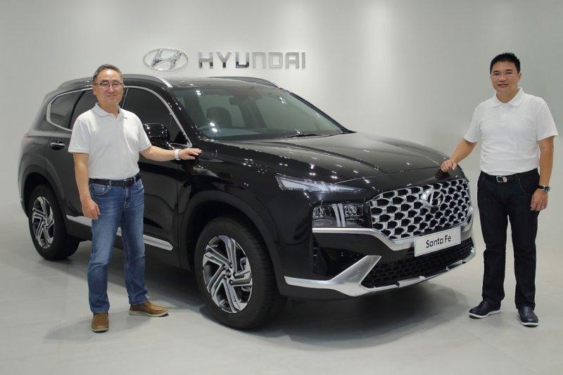 Hyundai New Santa Fe resmi mengaspal di Indonesia, penyegaran desain luar dalam