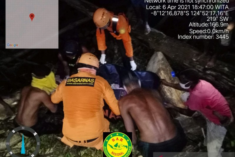 17 jenazah korban banjir bandang di Alor sudah ditemukan