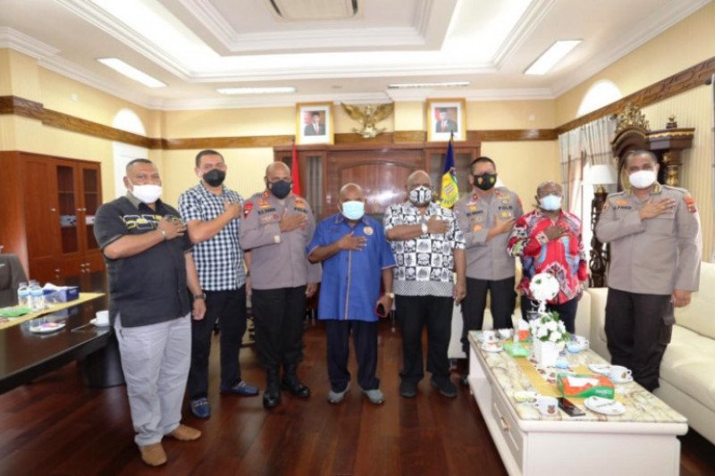 Pemprov Papua dan Polda buka penerimaan 2.000 Bintara Polri OAP