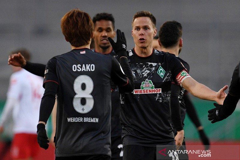 Bremen lawan Leipzig di semifinal Piala DFB Pokal