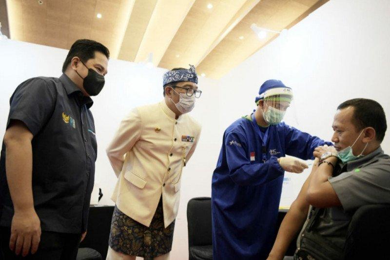 9.309.809 orang sudah menjalani vaksinasi COVID-19