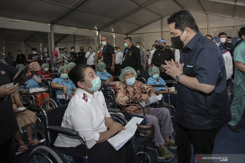 Menteri BUMN ingin nilai pasar Pertamina 2024 tembus 100 miliar dolar