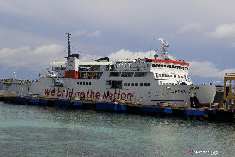 Kapal  milik ASDP yang tenggelam belum bisa dievakuasi