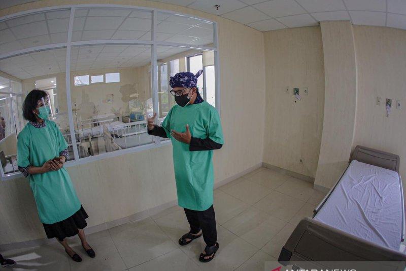 Pasien COVID-19 yang dirawat di RS rujukan Kota Bogor berkurang