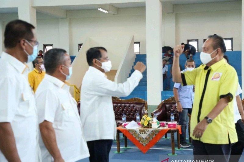 Pengurus Baveti Sumbar dilantik di UNP pada momentum final Kejurnas