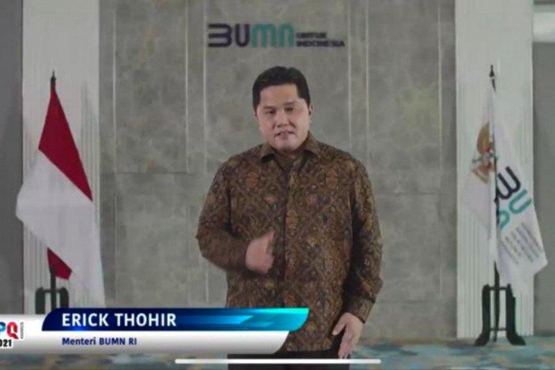 Erick Thohir menilai kompetisi IBL gambaran sukses industri olahraga