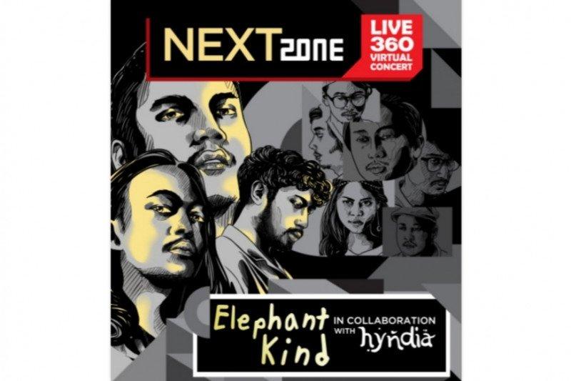 "Konser musik ""Supermusic Nextzone"" pertemukan Elephant Kind dan Hyndia"