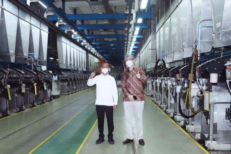 Bahlil resmikan perluasan pabrik Indorama Synthetics senilai Rp510 miliar