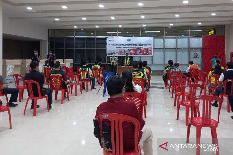 Bandara Samrat edukasi mitra usaha cegah kebakaran