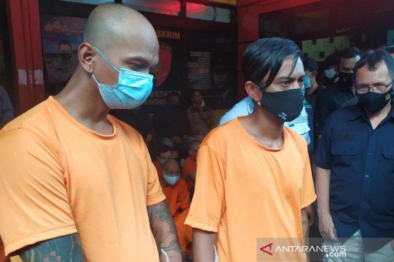 Polrestabes Bandung bekuk dua anggota ormas peras teknisi kabel di Gedebage
